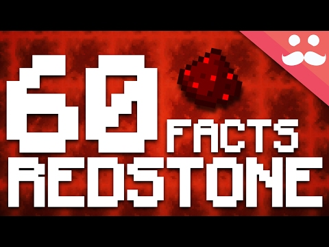 60 Facts About Minecraft Redstone!