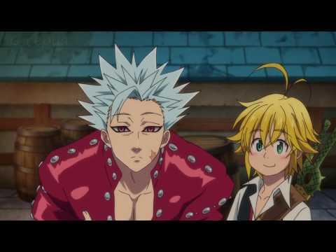 Семь смертных грехов (Nanatsu No Taizai) - Смешные моменты. Аниме приколы. 1 сезон.