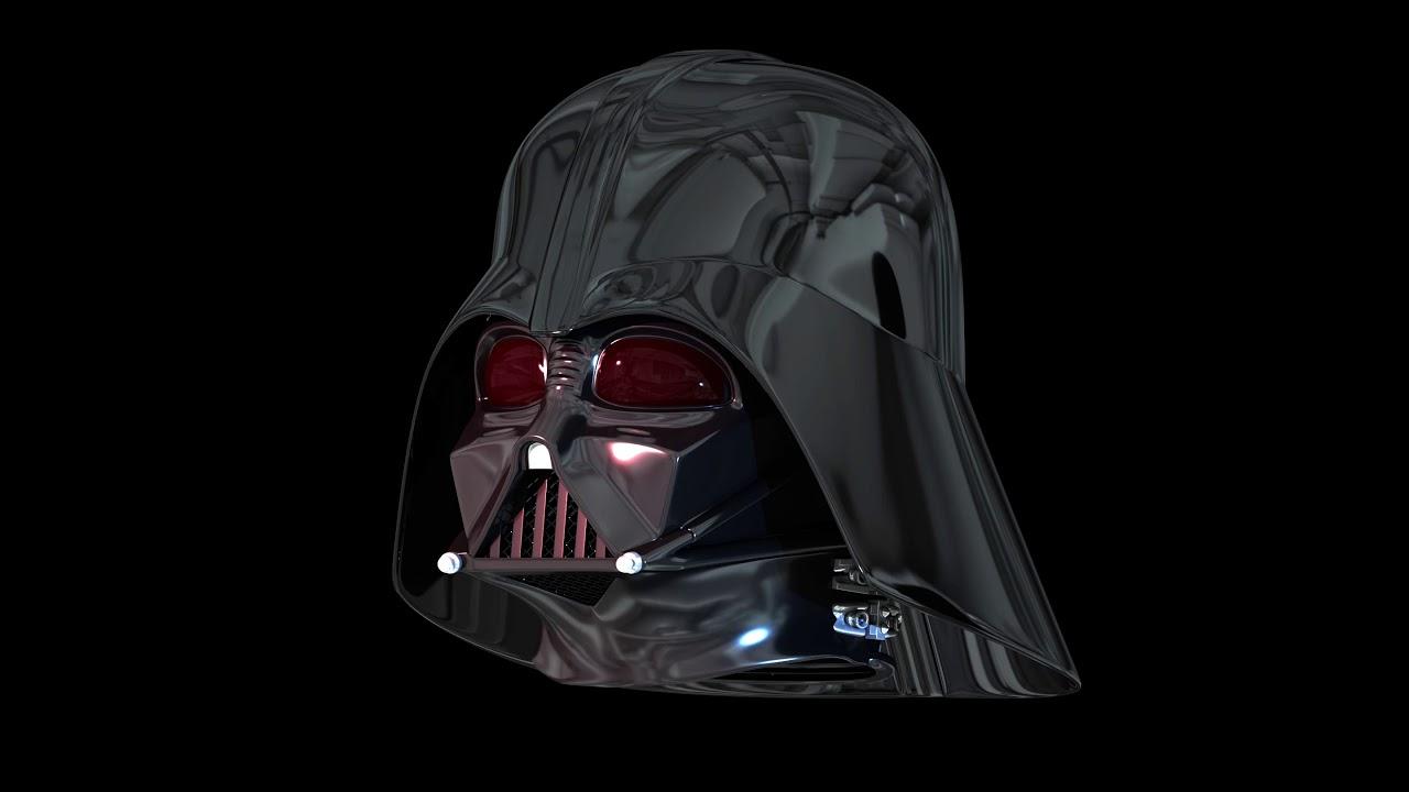 Artstation Darth Vader Helmet 3d Model Nicholas Magri Demajo