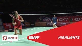 FUZHOU CHINA OPEN 2018 | Badminton WS - SF - Highlights | BWF 2018