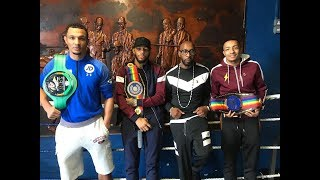 THE NEXT GENERATION DELIVER!! PAT BARRETT AND HIS THREE CHAMPS: ZELFA, LYNDON AND MARCUS