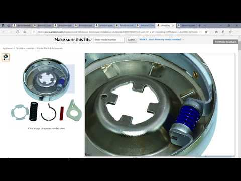 #Appliancerepair Appliance Parts List For Washers ( DC's Recommendation)