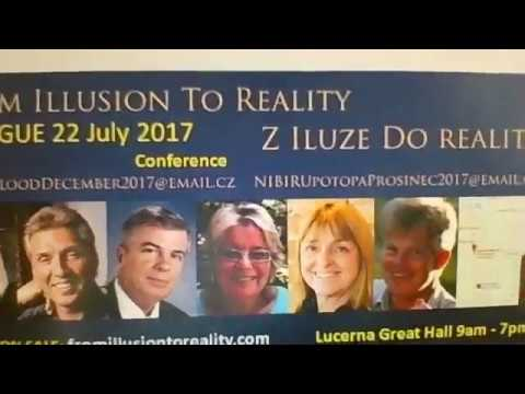 Conference From Illusion To Reality in Prague, 22 July 2017, Dinner 21 July