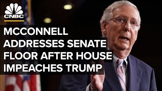 Senate Majority Leader Mitch McConnell (R-Ky.) addressed the Senate...
