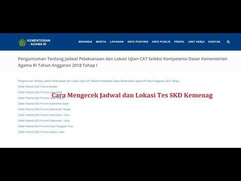 Jadwal dan Lokasi Tes CPNS Kemenag Seluruh Indonesia ...