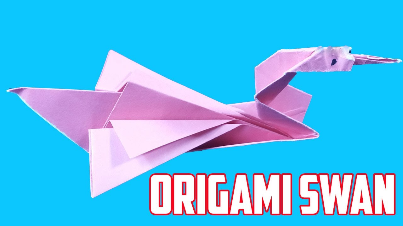 Origami swan made of paper how to make an origami swan for Origami swan step by step