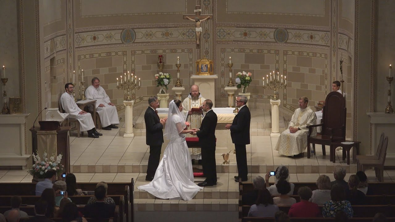 Catholic Wedding Highlights