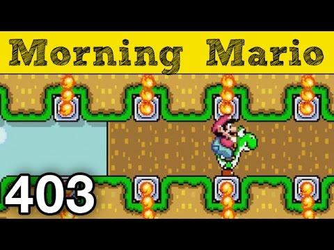 "Morning Mario #403 - ""Puzzle Plains v5"""