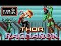 Thor: Ragnarok ganha trailer em versão 8-bits