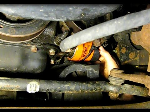Ford 54L F150 maintenance Changing the oil, oil filter, air filter