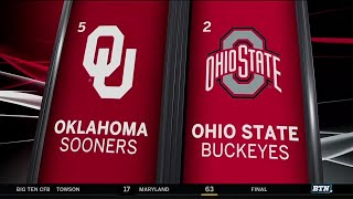 Oklahoma at Ohio State - Football Highlights