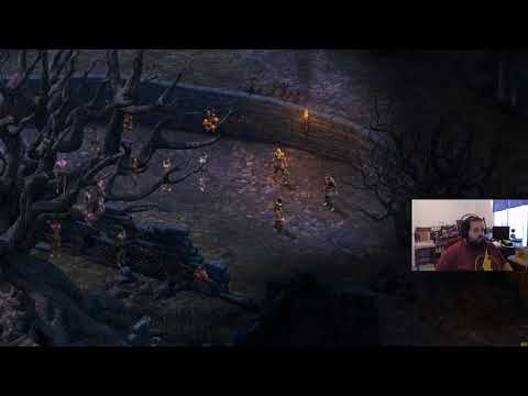 Pillars of Eternity (the first) Blind Playthrough Pt. 2, chased away by bear!