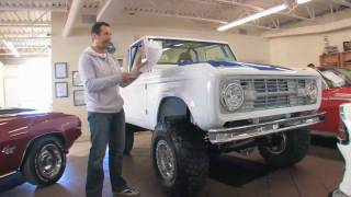 1969 Ford Bronco 4X4 for sale with test drive, driving sounds, and walk through video