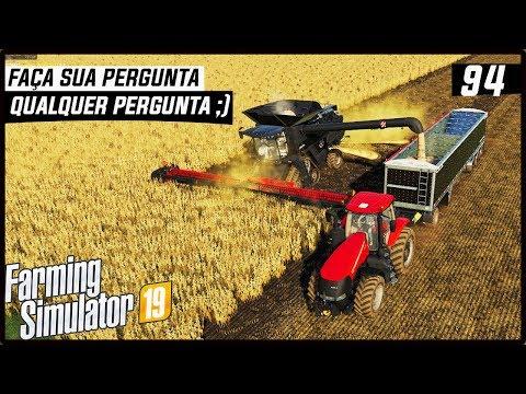 PORQUE TA TENDO POUCOS VIDEOS? FAÇA SUA PERGUNTA | FARMING SIMULATOR 19 #94 [PT-BR] thumbnail