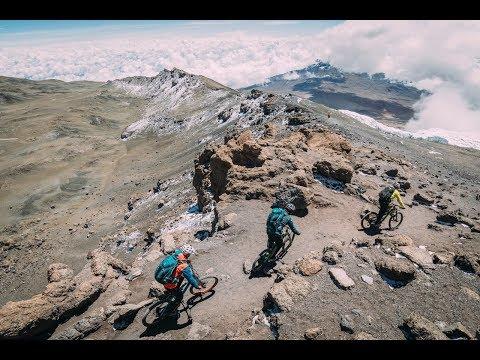 Mt.Kilimanjaro & Mt. Kenya On MTB With Hans Rey, Danny MacAskill And Gerhard Czerner