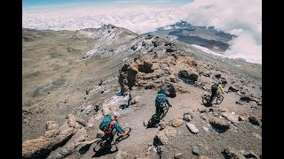 Mt.Kilimanjaro & Mt. Kenya on MTB with Hans Rey, Danny MacAskill and Gerhard Czerner