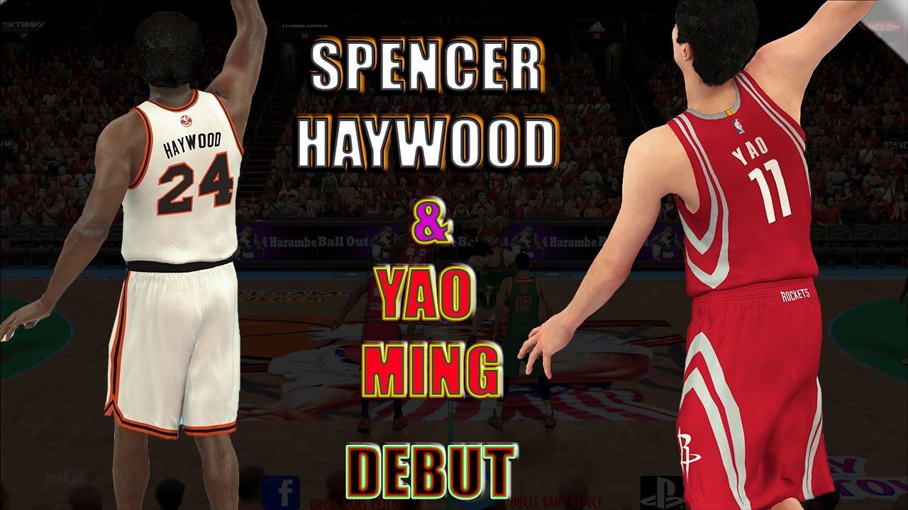 SPENCER HAYWOOD & YAO MING DEBUT NBA 2K17 MY TEAM ONLINE GAMEPLAY