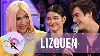 GGV: LizQuen officially confirms their relationship in Kuryentanong challenge