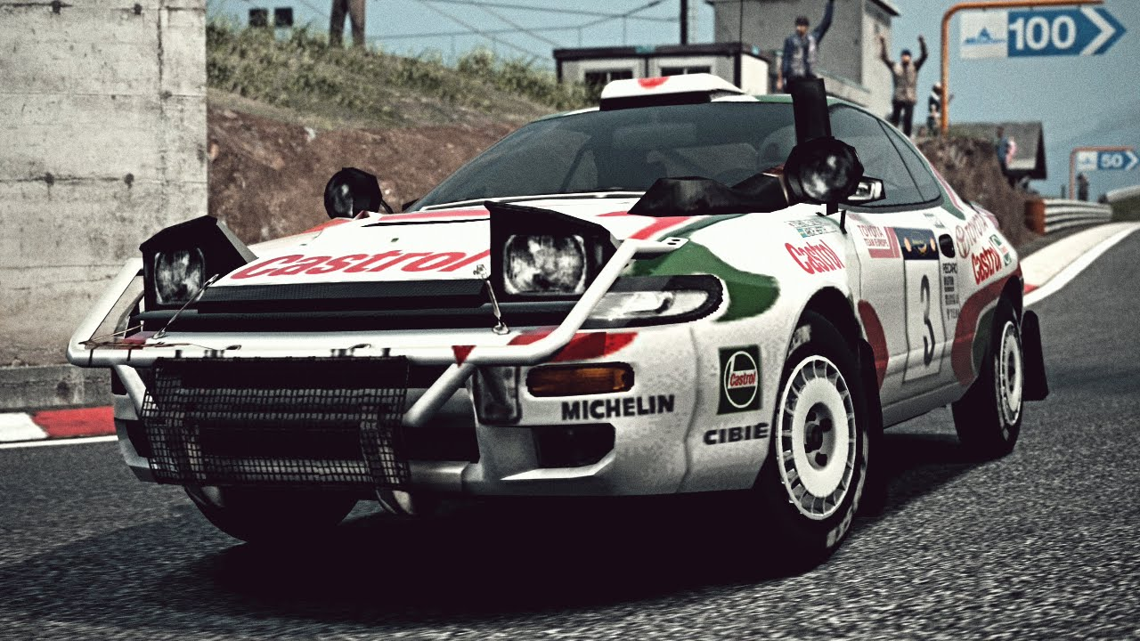 GT6) Toyota CELICA GT-FOUR Rally Car (ST185) \'95 - Exhaust Video ...
