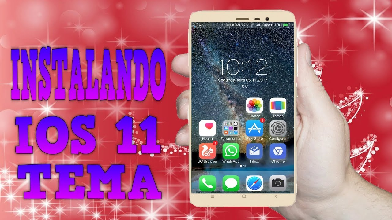 HOW TO INSTALL THEMES  MTZ PURE IOS 11 - XIAOMI REDMI NOTE 4 MTK