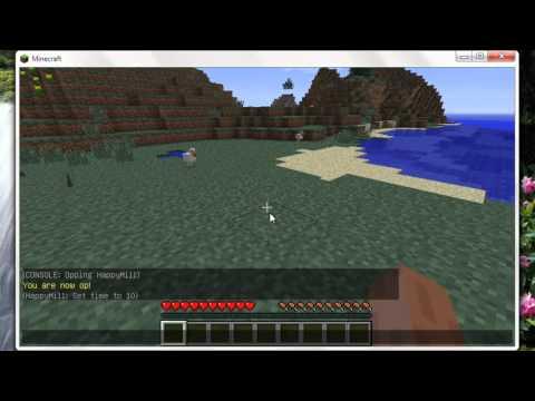 Minecraft как стать оператором