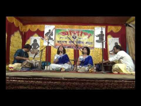 Nilanjana Dutta and Silanjana Dutta Raga JOG Amitava Guhathakurata tabla Sanjay Biswas harmonium
