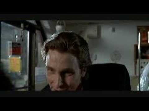 American Psycho trailer