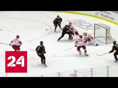 Молодые российские хоккеисты уступили канадцам в драматичном финале чемпионата мира - Россия 24