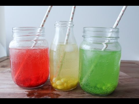 How To Make Skittles Soda Drinks By One Kitchen Episode
