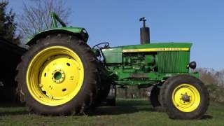Firing up JD 2120 - The best John Deere ever ?