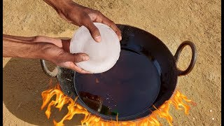 Ice Vs Hot Oil experiment || Ice in Hot Oil experiment || Experiment king