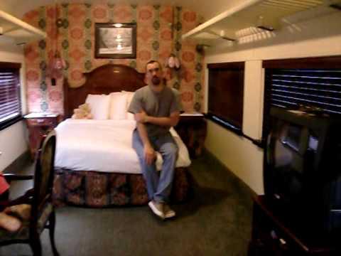 Chattanooga Choo Choo Victorian Train Car Room Youtube