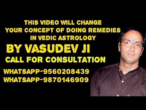 This Video will change your concept of doing remedies in Vedic Astrology Part 1