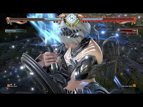 SoulCalibur 6 (Sophitia) Nyawu vs (#1 Ranked Yoshimitsu) Lone Devil - 10~14