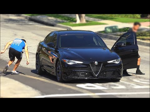 STEALING CARS PRANK