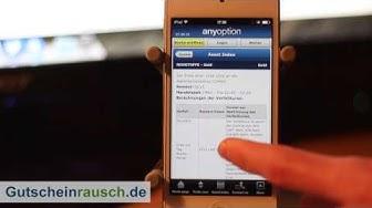 anyoption App im Test auf Gutscheinrausch.de
