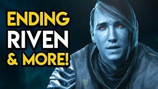Destiny 2 Forsaken - ENDING EXPLAINED! Riven, Secrets, More!