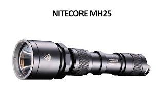Ліхтар для полювання Nitecore MH25 - відео інструкція. Повний огляд.