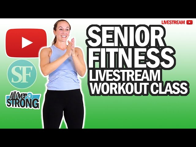 Resistance Bands Workout For Seniors | Livestream Class