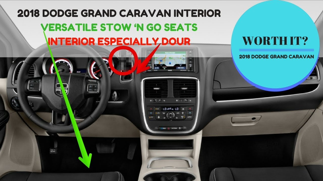 2018 Dodge Caravan >> 2018 Dodge Grand Caravan Interior - ZUBER CAR - YouTube