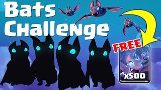 BATS ARE HERE ! GET THEM FOR FREE ! New Bats Draft Challenge in CLASH ROYALE !