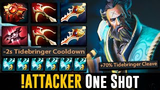 !Attacker ONE SHOT KUNKKA Dota 2 Highlights TV