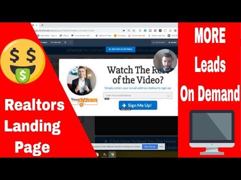 Landing Pages For Realtors - How To Create A Realtor Landing Page In Under 10 Minutes