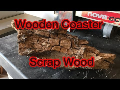Wooden Coaster Built From Scrap Wood