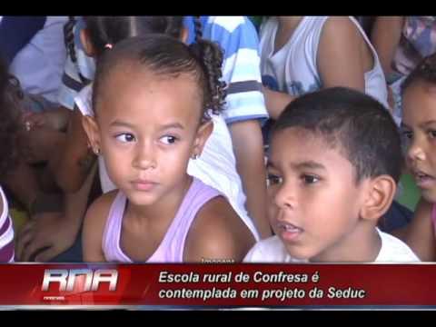 Escola rural de Confresa é contemplada em projeto da Seduc