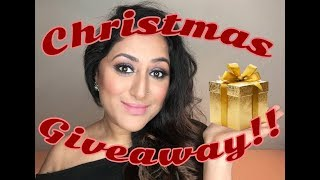 CHRISTMAS GIVEAWAY!!! Cosmetics & Beauty Giveaway