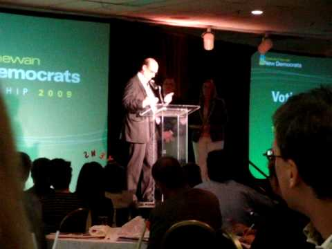 Dwain Lingenfelter becomes Leader of the Saskatchewan New Democratic Party