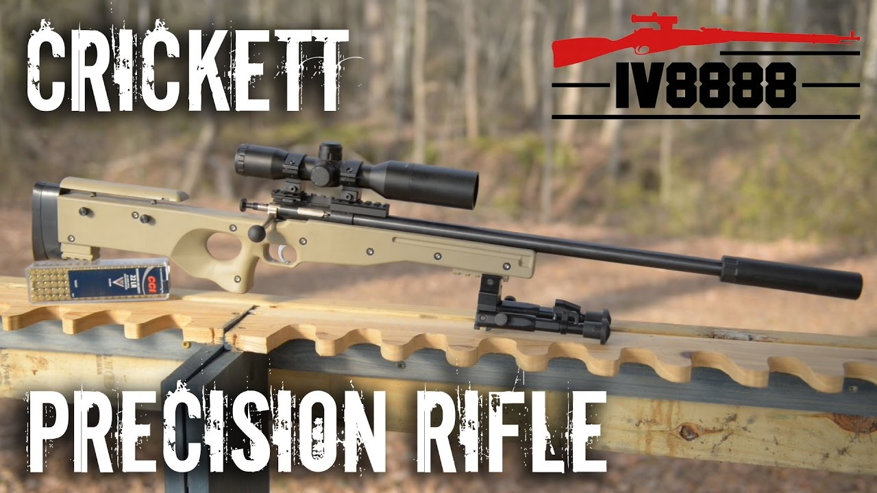 New for 2017: Keystone Crickett Precision Rifle 22LR