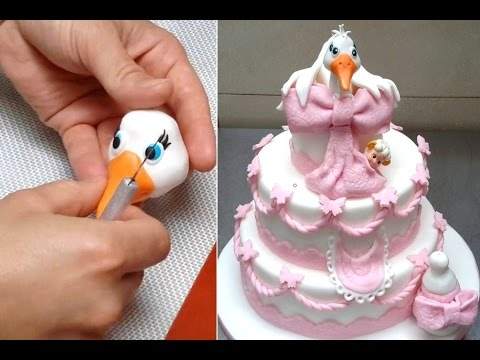 Baby Shower Cake. How To By Cakes StepbyStep