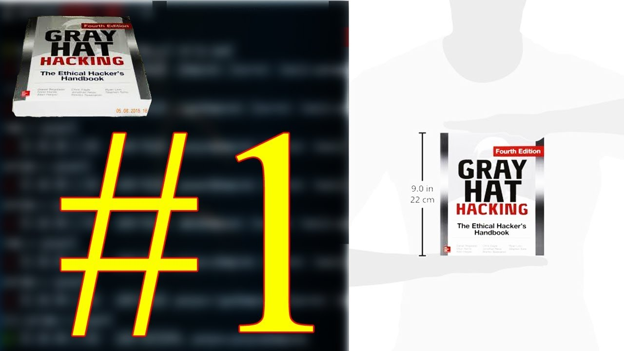 Gray Hat Hacking - Book of Education Hacker page #1
